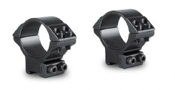"Hawke Match 30mm MEDIUM Airgun 9-11mm and 3/8"" Base Scope Mount Rings HM6160 - 22107"